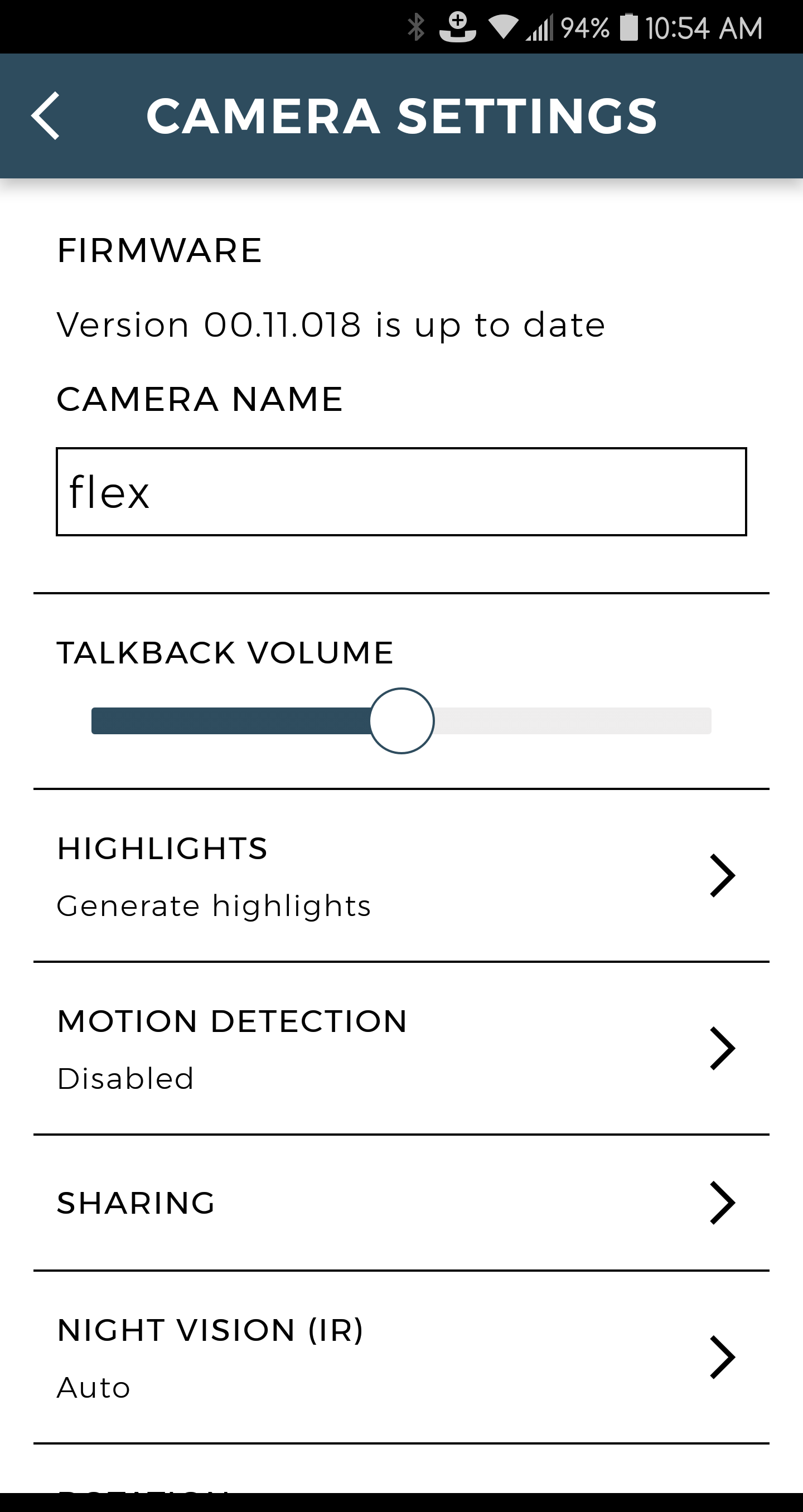 Camera Volume Control – Tend Insights