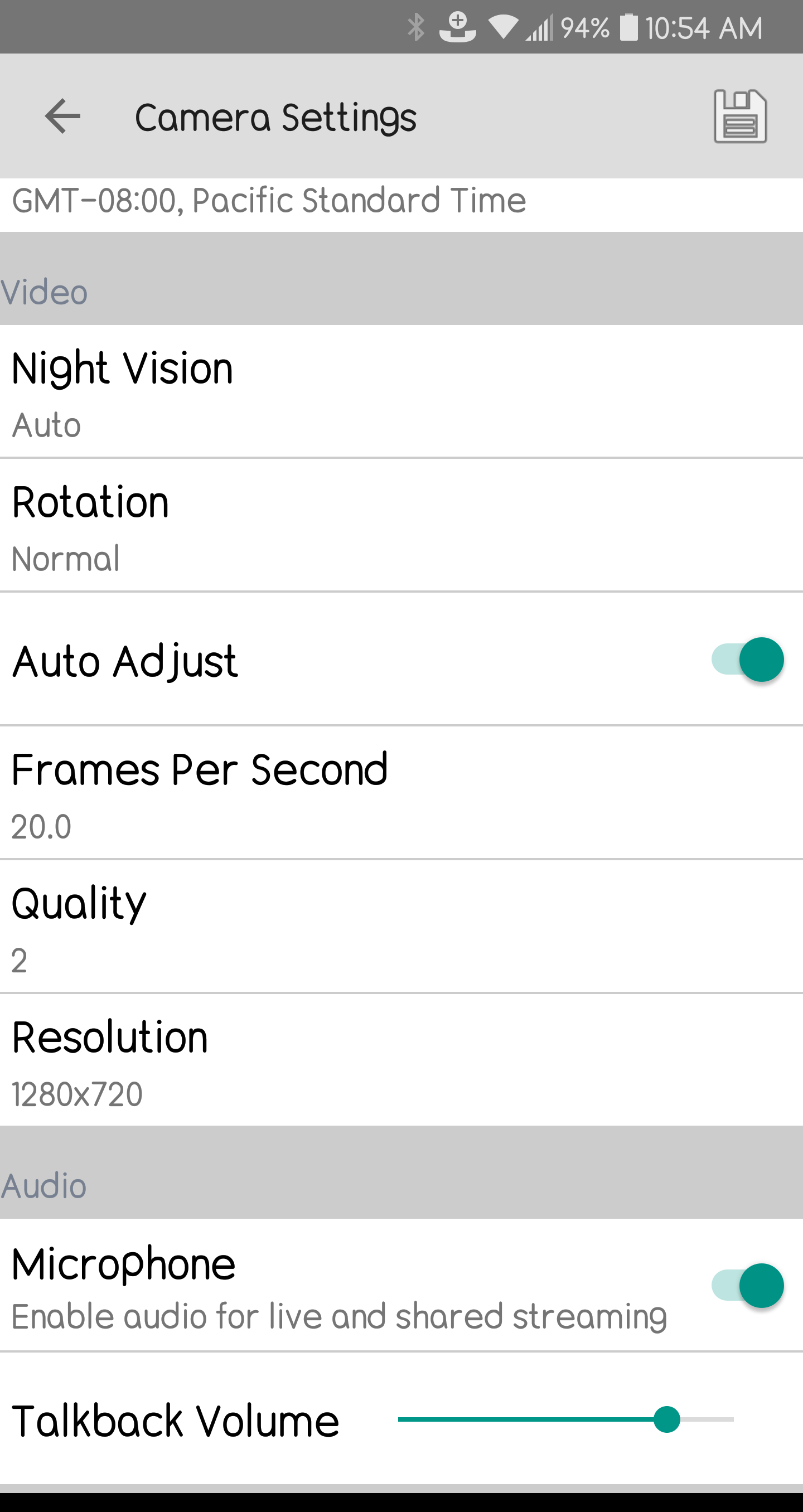 Camera Volume Control – Tend Insights